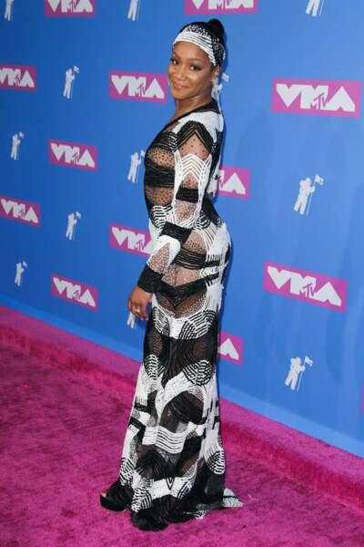 Tiffany Haddish aux MTV Video Music Awards 2018, le 20 août, à New York