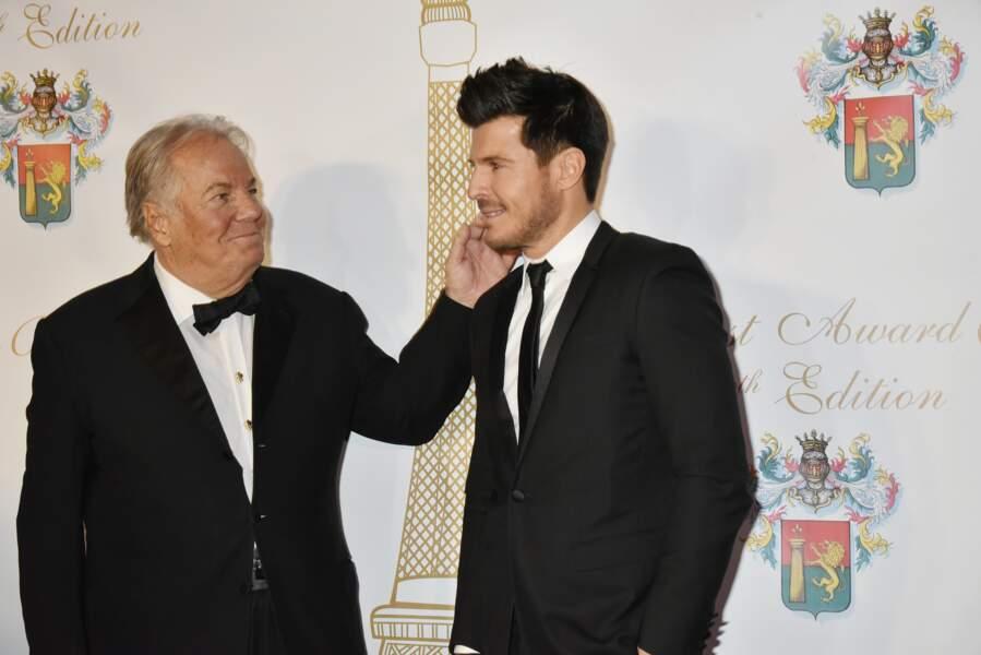 40ème Best Awards : ... Avec Vincent Niclo (ici aux côtés de Massimo Gargia)