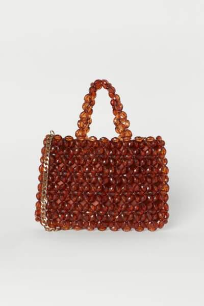 Sac en perles brodées, H&M, 59,99€
