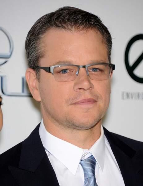 Matt Damon est totalement herpetophobie. Il a très très peur des...