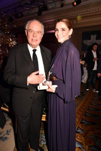 40ème Best Awards : Frédéric Mitterrand et Clotilde Courau