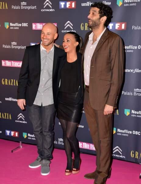 Franck Gastambide, Alice Belaïdi et Ramzy Bédia