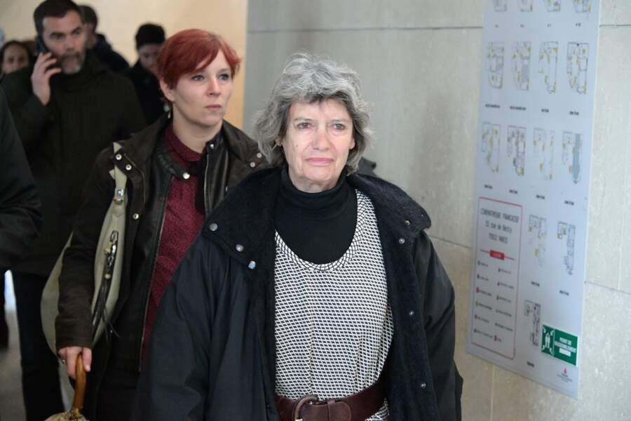 Véronique Cayla à l'hommage à Agnès Varda