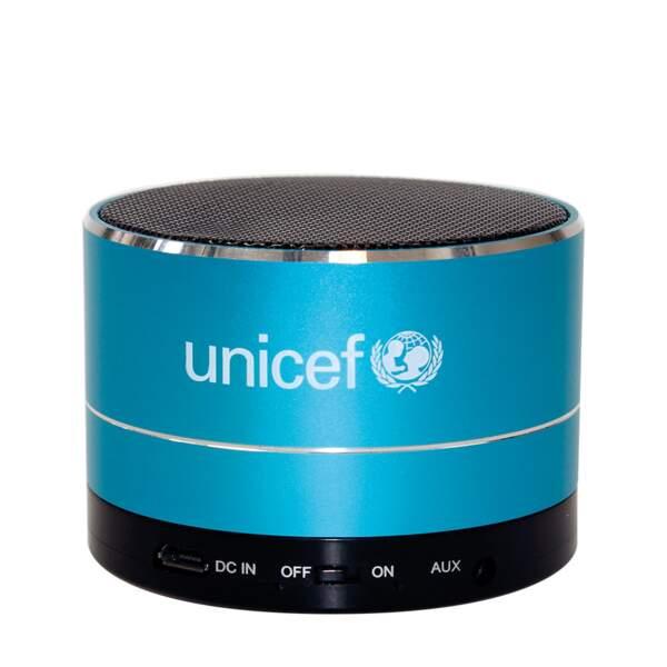 Enceinte Bluetooth 25€ 30% sont reversés à l'UNICEF