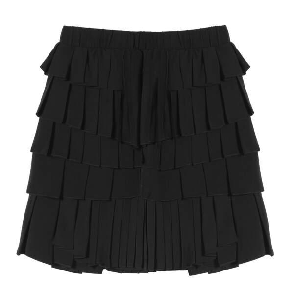Caroline Receveur x Morgan : mini jupe volantée, 75 euros