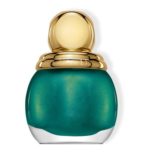 50 façons de briller : Diorific vernis, teinte emerald, Dior, 26,50 euros