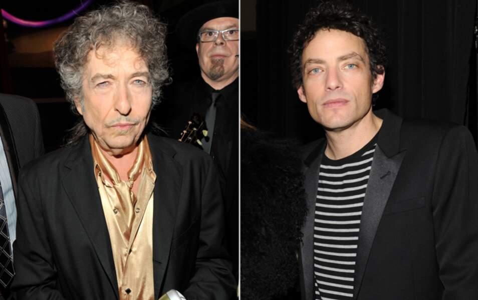 Bob Dylan et son fils Jakob