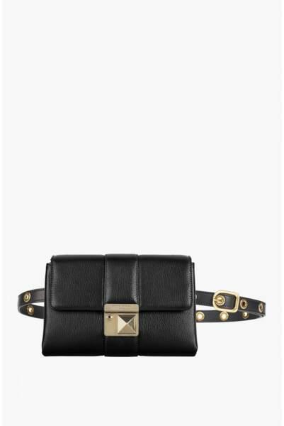 Le retour du sac banane : Sac ceinture Le Luco en cuir, Sonia Rykiel, 590 euros
