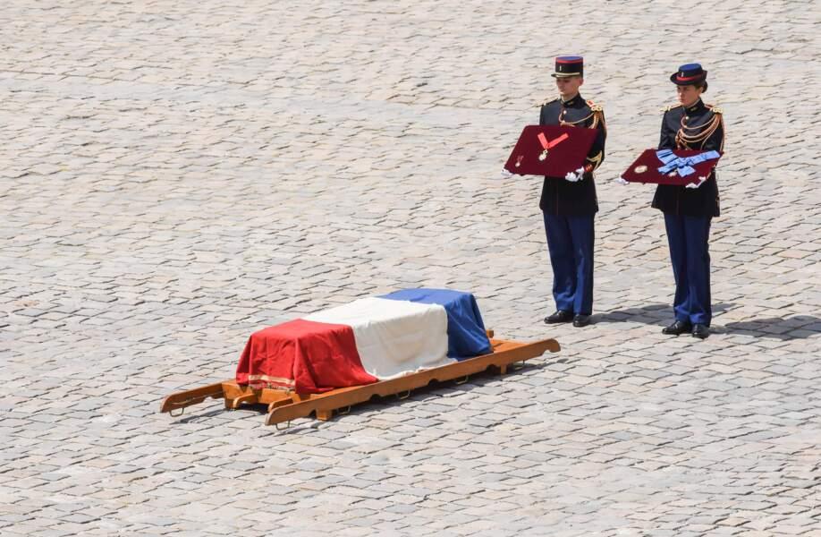 Hommage national aux Invalides à Claude Lanzmann