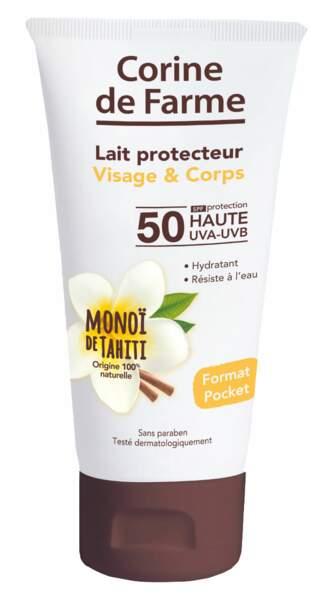 Lait Protecteur. Visage & Corps, SPF 50, 50 ml, 5,99 €, Corine de Farme