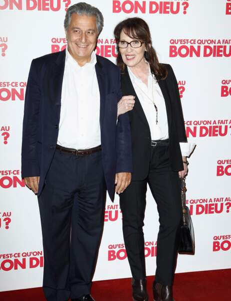 Christian Clavier et Chantal Lauby, alias les parents Verneuil