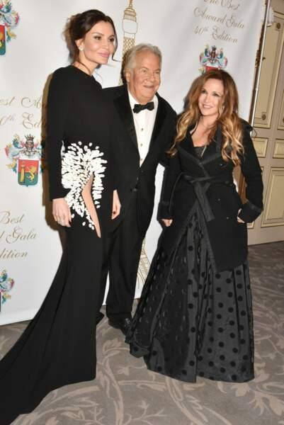 40ème Best Awards : Lola Karimova-Tillyaeva, Massimo Gargia et Hélène Ségara