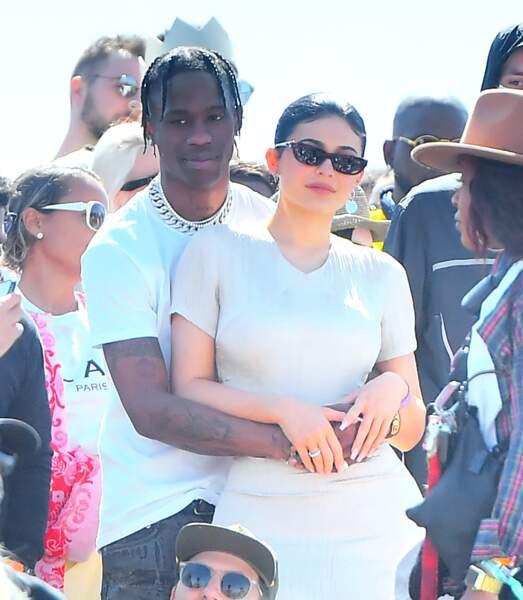 Travis Scott et Kylie Jenner plus amoureux que jamais au festival de Coachella