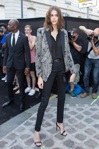 Dîner Vogue : Kaia Gerber