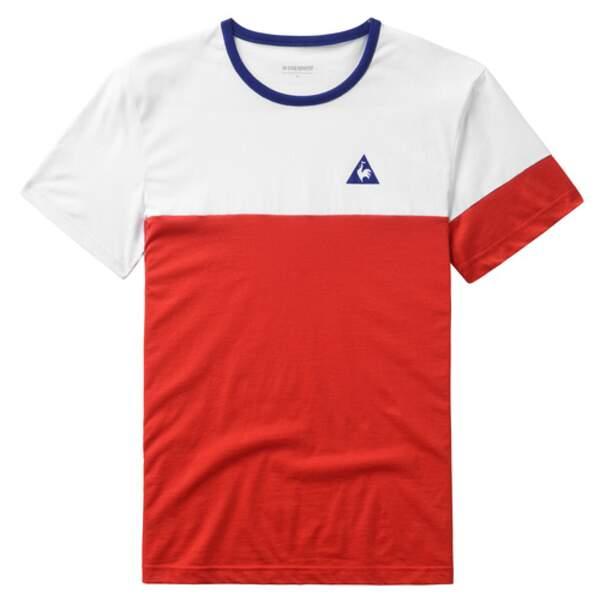Tee-shirt Le Coq Sportif : 29€