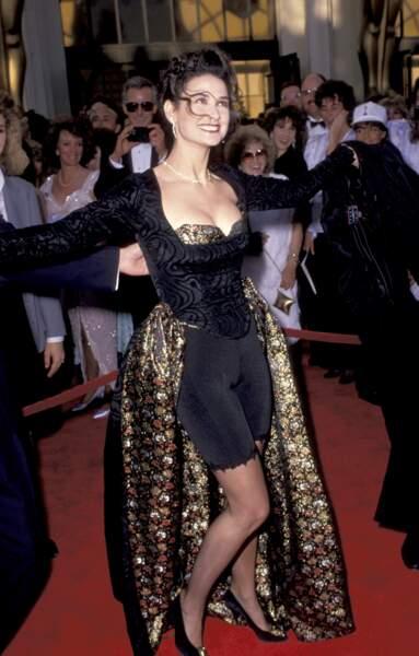 Demi Moore à la 61e cérémonie des Oscars, en 1989