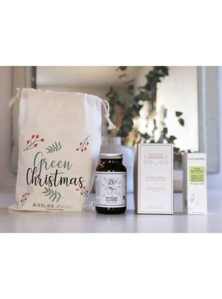 Coffret Green Christmas, Atelier Maoli, 55€