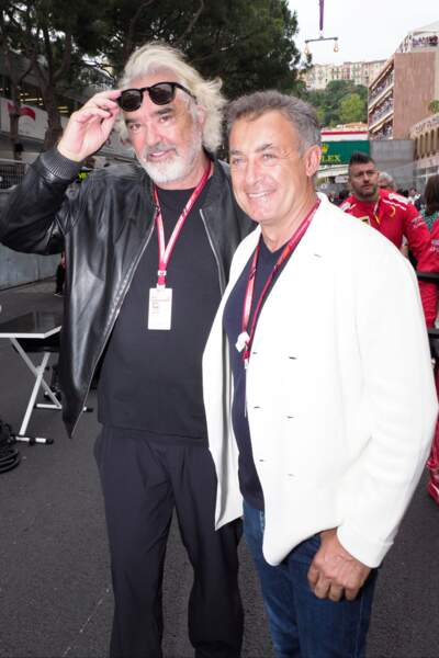 Flavio Briatore et Jean Alesi