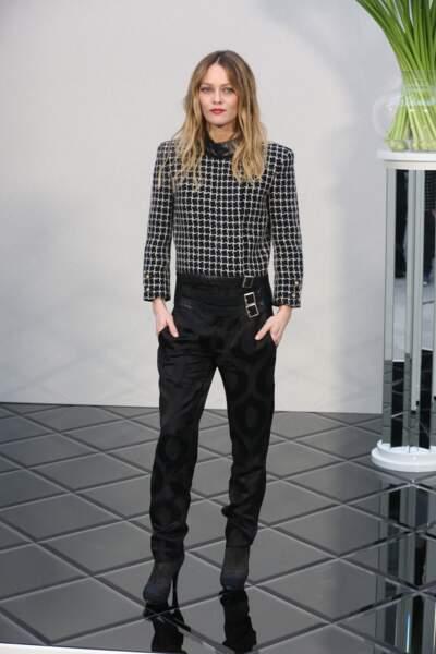 Défilé Chanel Haute Couture : Vanessa Paradis était bien entendu là pour soutenir sa fille Lily-Rose Depp