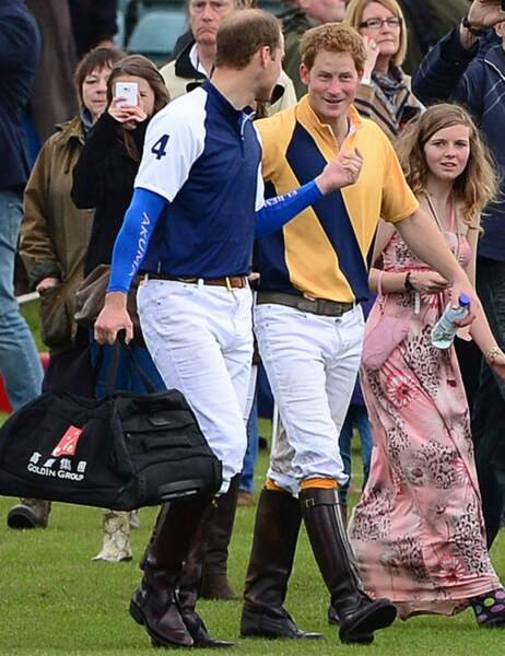 Harry et William
