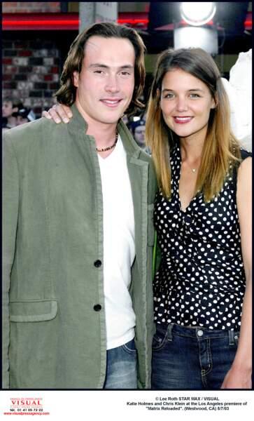 Chris Klein et Katie Holmes