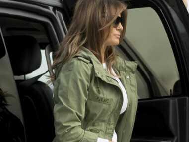 Melania Trump : le message caché de sa nouvelle veste crée une énorme polémique