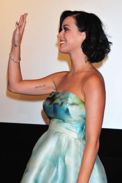 Le tatouage fleuri des people - Katy Perry