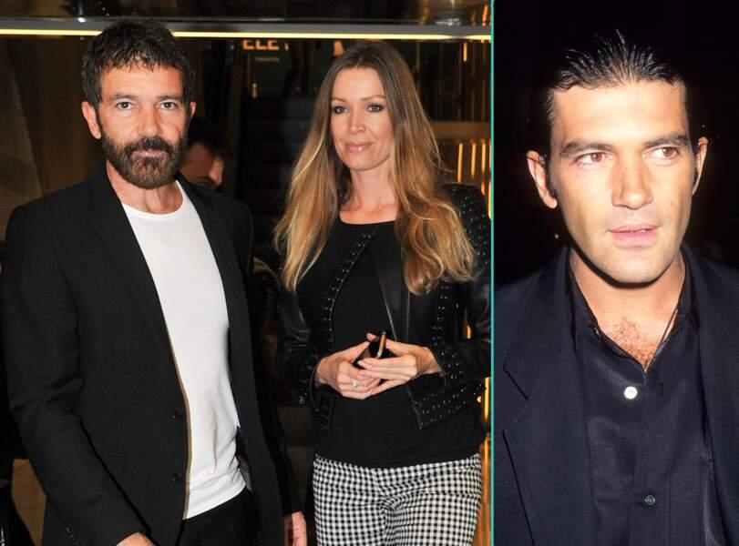 Antonio Banderas aujourd'hui à 55 ans et à 34 ans, l'âge actuel de sa petite-amie Nicole Kimpel