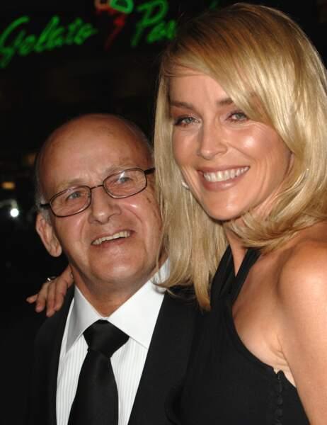 Sharon Stone et son papa