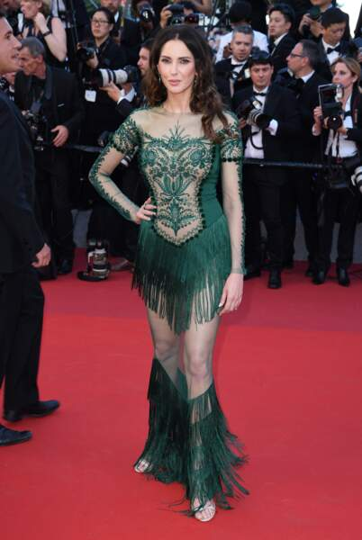 Festival de Cannes 2017 : Frédérique Bel mais pas sa robe #lol