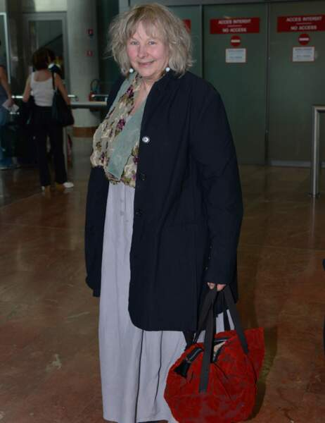 La comédienne française Yolande Moreau