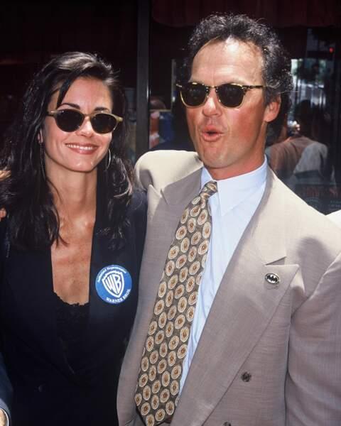 Avril 1989: Courteney Cox et Michael Keaton s'embarquent pour six ans d'amour