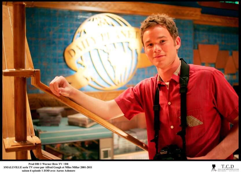 Aaron Ashmore incarnait Jimmy Olsen du Daily Planet