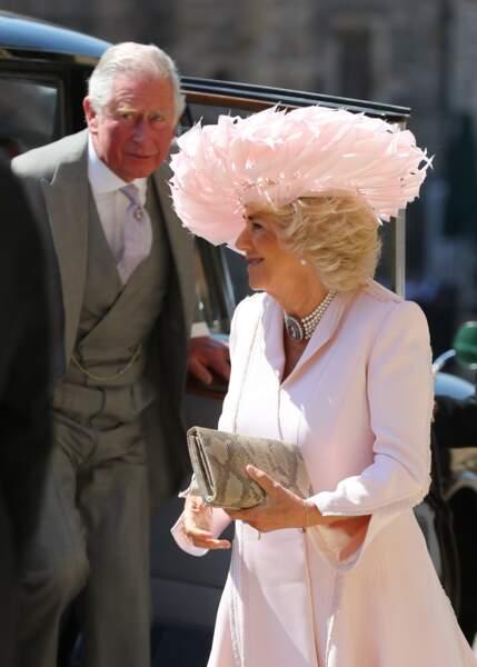 Royal wedding : l'arrivée du prince Charles et de Camilla Parker Bowles