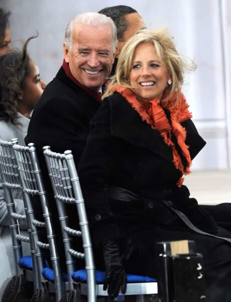 Joe Biden et son épouse Jill Biden