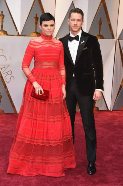 Les plus beaux couples des Oscars 2017 : Ginnifer Goodwin et Josh Dallas
