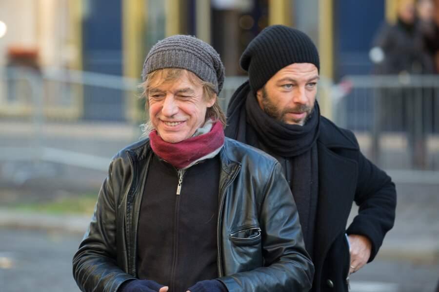 Jean-Louis Aubert et Christophe Maé