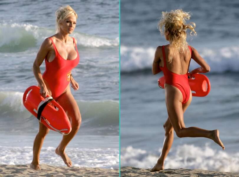Et CJ passait beaucoup de temps à courir sur la plage...