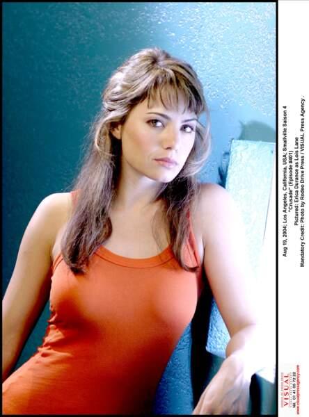 Erica Durance, alias Loïs Lane