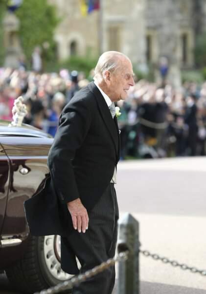 Le prince Philip au mariage de la princesse Eugenie et Jack Brooksbank