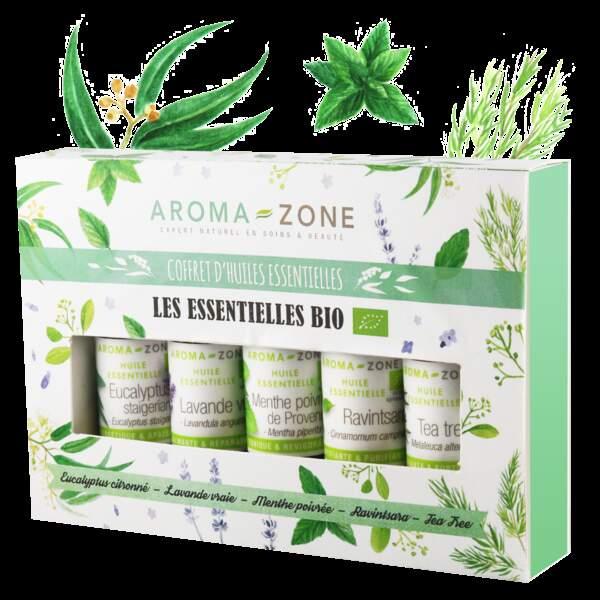 Coffret d'huiles essentielles, Aroma-zone, 13,50€