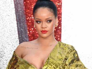 PHOTOS Ocean's 8 : Rihanna manque de dévoiler un sein, les actrices luttent contre la tempête