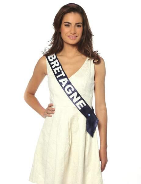 Miss Bretagne - Marie Chartier, 19 ans, 1m72