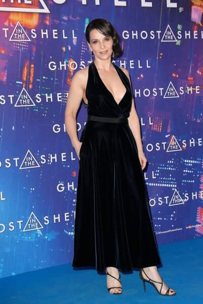 Avant-première de Ghost in the Shell : Juliette Binoche