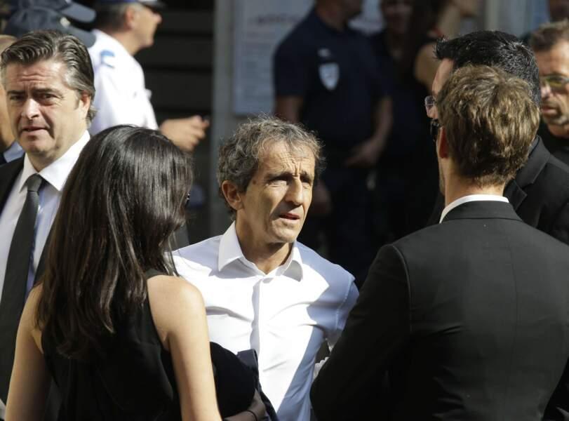 Alain Prost, Romain Grosjean et Marion Jollès