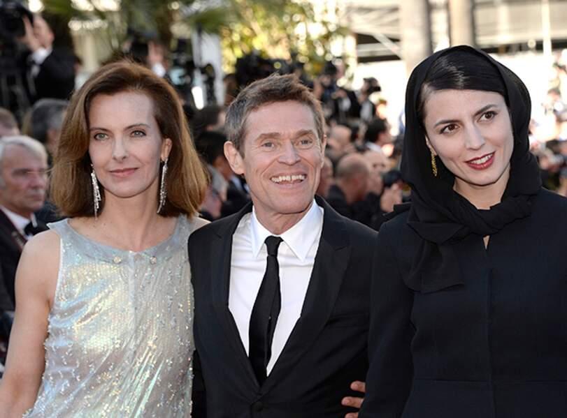 Carole Bouquet, Willem Dafoe et Leila Hatami