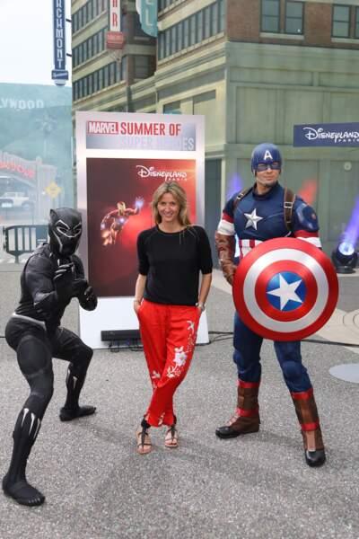 Eté Marvel Disneyland Paris - Sarah Lavoine
