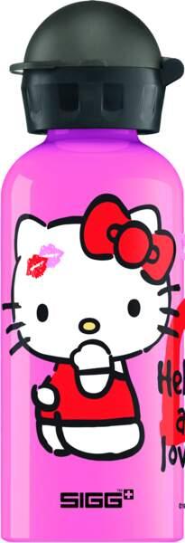Gourde Hello Kitty. 22,95€, Sigg.