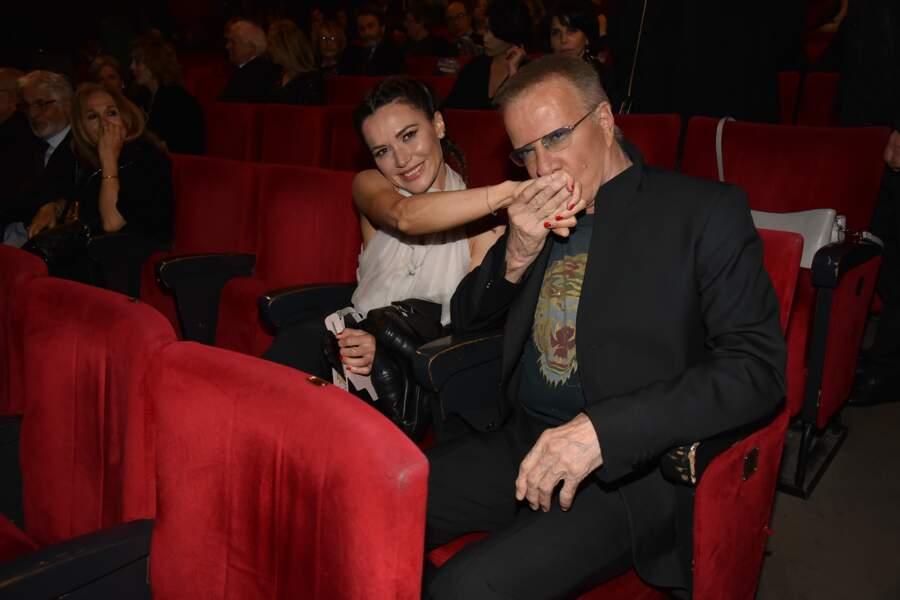 Christophe Lambert et Camilla Ferranti