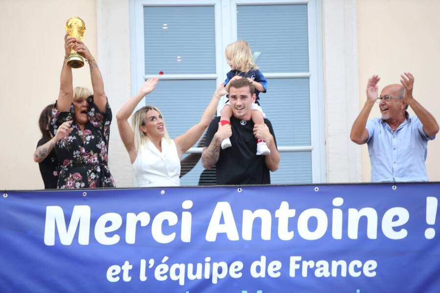 Antoine Griezmann de retour à Mâcon